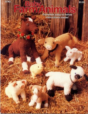 Free Crochet Pattern Farm Animals : Baby Farm Animals - Crochet Patterns 87A2
