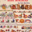 Cross Stitch Baby Borders by Sam Hawkins American School of Needlework 3528