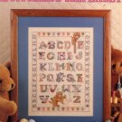 Stitcher's Alphabet Leaflet 812 Leisure Arts Cross Stitch Pattern