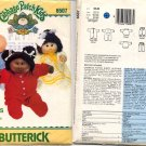 Cabbage Patch Kids Sleepwear Butterick Pattern 6507 - Uncut