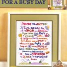 Prayer for A Busy Day Leisure Arts Leaflet 3185