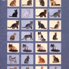 Purebred Cats - Pegasus Publications Book 216 Cross Stitch Patterns