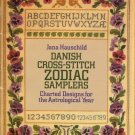 Danish Cross Stitch Zodiax Samplers Charted Designs - Drover Publications