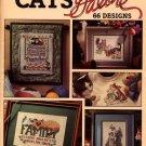 Cats Galore 66 Designs - Leisure Arts Cross Stitch Leaflet 2821