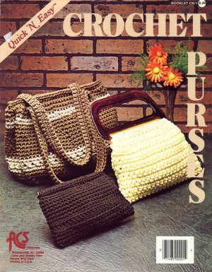Quick 'N Easy Crochet Purses - Booklet CB/1