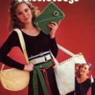 Crocheted Belts & Bags - Leisure Arts Leaflet 168