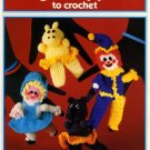Finger Puppets to Crochet - Needleworks Book No. 122