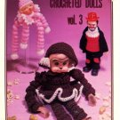 Crocheted Dolls Vol. 3 - Darice Inc. Leaflet CD-3