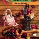 Annies's Quick & Easy with a Q Hook Crochet Baskets Book - Annies's Attic 651A