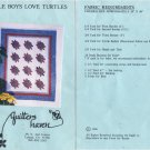 Little Boys Love Turtles Quilt Pattern by Quilters Haven