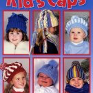 Kid's Caps to Crochet - Leisure Arts Leaflet 2918