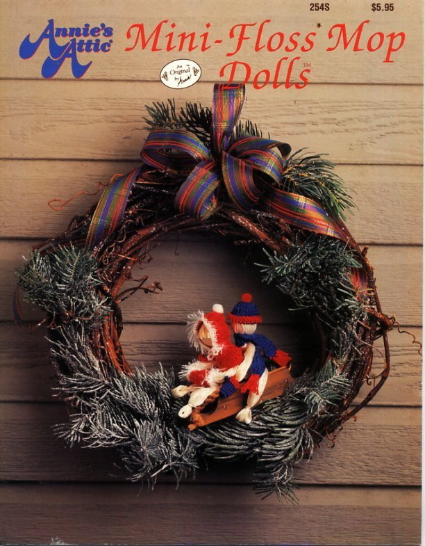 Mini-Floss Mop Dolls - Annie's Attic Book 254S