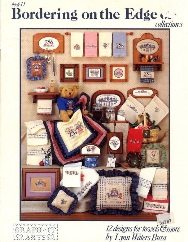 Bordering on the Edge of ... Collection 3 - Book 11 Cross Stitch Patterns