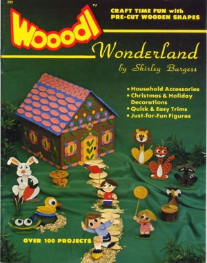 Wooodl Pre-Cut Wooden Shapes Craft Book - 285