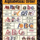 Alphabetical Order Cross Stitch Book -Good Natured Girls #24503