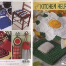 Leisure Arts Little Books Crochet Little Kitchen Helpers Patterns 75050