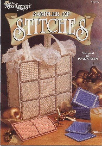 Sampler of Stitches Plastic Canvas Pattern - The Needlecraft Shop 953940