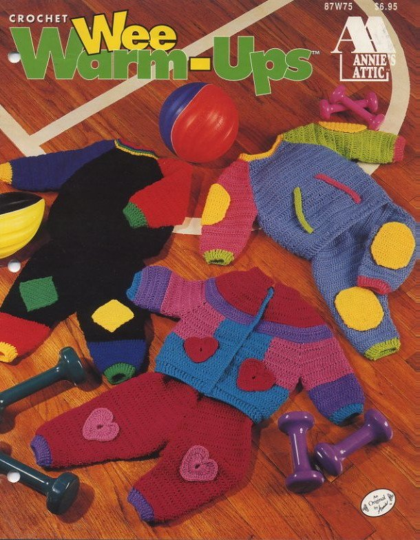 Crochet Wee Warm-Ups Patterns Annie's Attic 87W75
