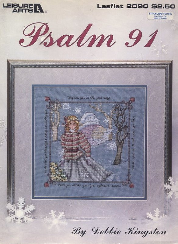 Psalm 91 - Cross Stitch Leisure Arts Leaflet 2090