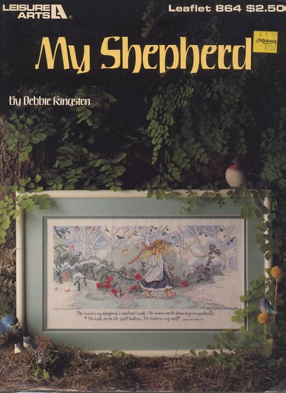 My Shepherd - Cross Stitch Leisure Arts Leaflet 864
