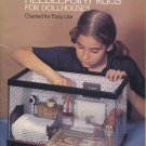 Susan McBaine Miniature Needlepoint Rugs for Dollhouses Pattern Book