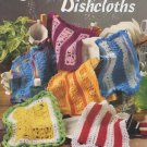Crochet Mile-A-Minute Dishcloths - American School of Needlework Book 1227