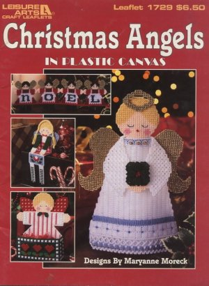 Christmas Angels In Plastic Canvas Patterns Leisure Arts 1729