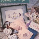 Bucilla Ribbon Embroidery Monograms and More Book