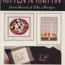 Kitten N Knittin -From the art of Edie Harper - Cross Stitch Book 1E