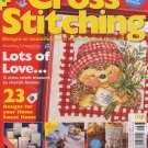 The World of Cross Stitching UK Magazine August 2000, Issue 35