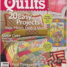 Quick Quilts # 91 - 20 Easy Projects Bags, Pillows, Quilts and More