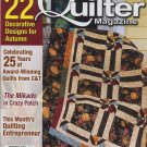 The Quilter Magazine November 2008