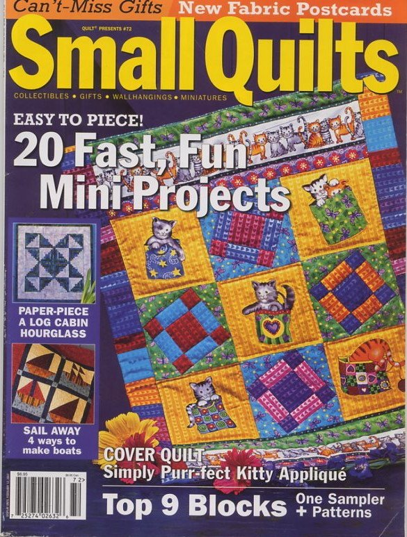 Quilt Presents #72 Small Quilts Magazine 2006