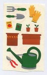 Mrs Grossman's Gardening Stickers #5A
