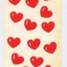 Mrs Grossman's Small Red Heart Stickers 6D