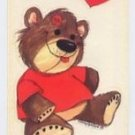 Suzy's Zoo Bear in Red Shirt Sticker 9410 6E