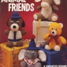 Animal Friends 4 Crocheted Designs by Wayne Bright Leisure Arts Leaflet 830