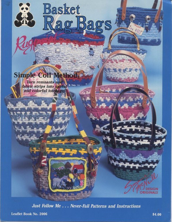Basket Rag Bags Rugpoint Leaflet Book No 2006 By Design