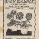 The Workbasket  Magazine Volume 13 Number 3 December 1947