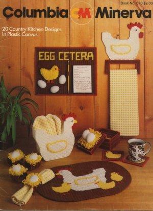 20 Country Kitchen Designs in Plastic Canvas - Columbia-Minerva CM 670