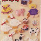 Annie's Attic Fun With Fridgies Pattern Booklet 87S58