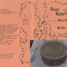 Mary Hegg Pattern - Roses and Butterflies on 13 in Cheese Box - Acrylic