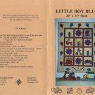 Fireside Creations - Little Boy Blue Quilt Pattern FS-156