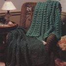 Quick Comfort 7 Afghans by Melissa Leapman - Leisure Arts Crochet Leaflet 2620
