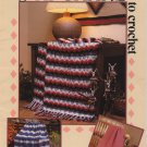 Afghans to Crochet - American School of Needlework 1054