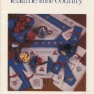 Teatime in the Country Pattern - A Cross Stitch Collection by Sue Hillis