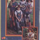 1994 K.P. Kids & Co. Pattern Mother/Daughter Garden Patch Jumpers