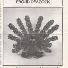 Annie's Pattern Club Birds of a Feather Proud Peacock Crochet Pattern 87H20
