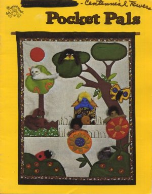 Pocket Pals Sewing Pattern Book Mangelsen's 04-0273-00-5