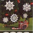 Snowflake Trims Crochet Leaflet Coats & Clarks Leaflet C.905